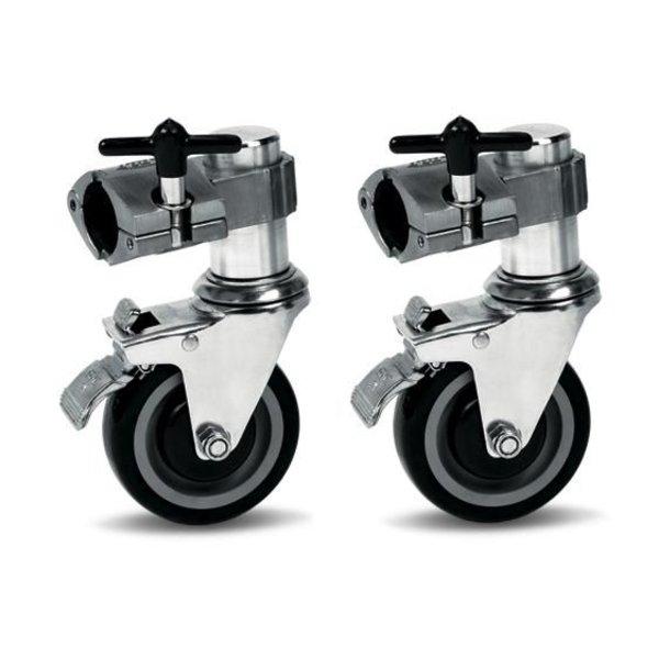 DW DW Rack Casters Single Brake (Pair)