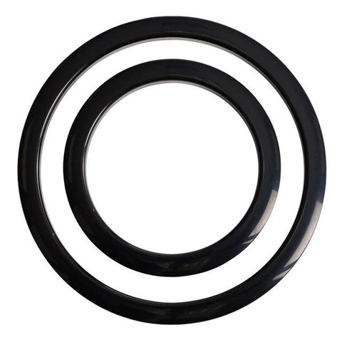 Gibraltar Port Hole Protector 6'' Black