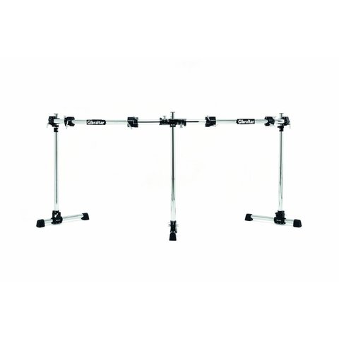 Gibraltar Road Series Double Bass Curved Rack Bar