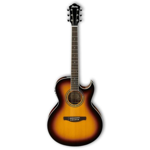 Ibanez JSA5VB JSA Joe Satriani Signature Acoustic Electric Tobacco Sunburst