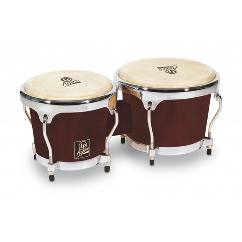 LP Aspire Wood Bongo Dark Wood