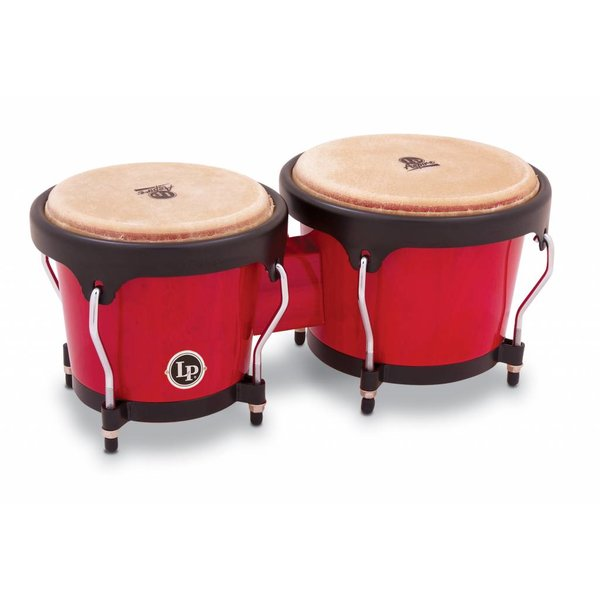 LP LP Aspire Wood Bongo Red