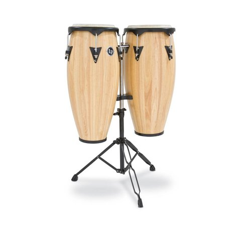 LP City 10'' & 11'' Conga Set - Natural