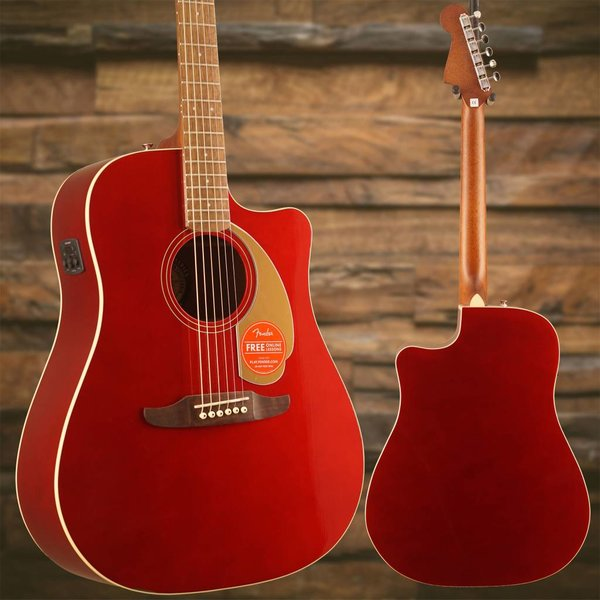 Fender Redondo Player, Candy Apple Red S/N CSA18000420 4lbs 12.4oz