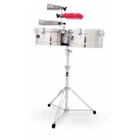 LP Prestige Series 13'' 14'' Timb Stainless Steel