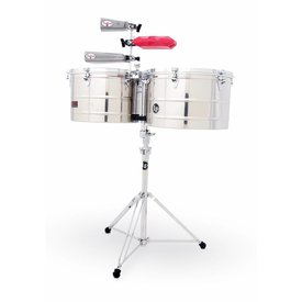 LP LP Prestige Series 15'' 16'' Thunder Timbale Stainless Steel