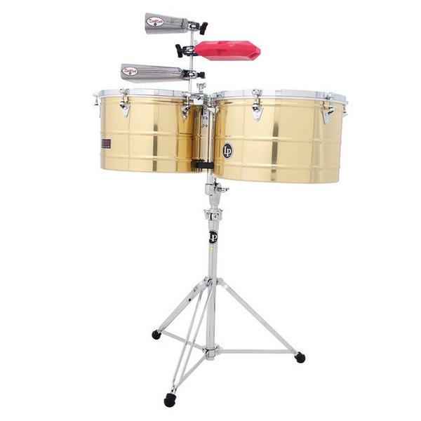 LP LP Prestige Series 15'' 16'' Thunder Timbales Brass