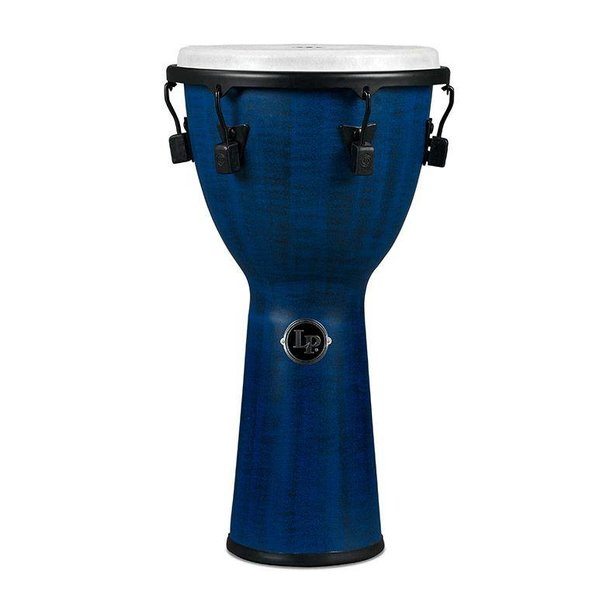 LP LP Tuned Djembe 11'' Synthetic Shell, Synthetic Head, Blue