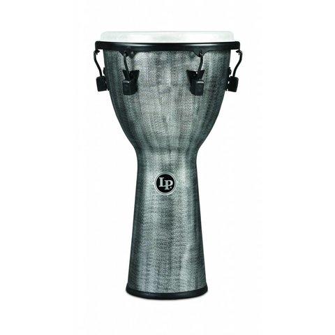LP Tuned Djembe 12.5'' Synthetic Shell, Synthetic Head, Grey
