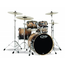 PDP PDP Concept Birch Natural To Charcoal Fade - Chrome Hardware 5 Pcs