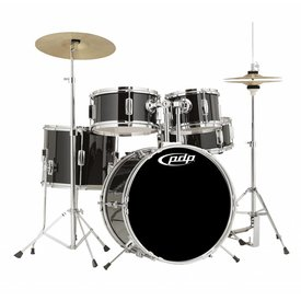 PDP PDP Player - Kit, Cymbals, Throne - Black