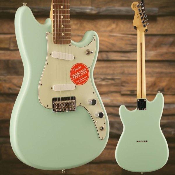 Fender Duo-Sonic SS, Pau Ferro Fingerboard, Surf Green S/N MX17873636