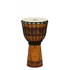 Toca Toca Origins Wood Djembe 8'' Tribal Mask