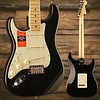 American Pro Stratocaster Left-Hand, Maple Fingerboard, Black