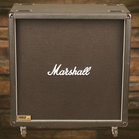 Marshall 1960B 300-Watt 4x12 Stereo Straight Speaker Cabinet - Demo