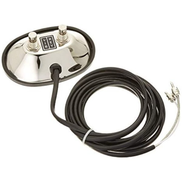Fender Vintage- Style 2 Button Footswitch RCA Jacks