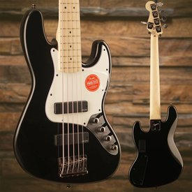 Squier Squier Contemporary Active Jazz Bass V HH Maple Fingerboard Black