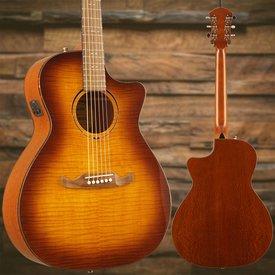 Fender FA-345CE Auditorium, Tea Burst, Laurel Fretboard SN/IWA1804825