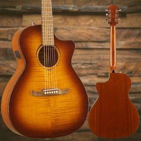 Fender FA-345CE Auditorium, Tea Burst, Laurel Fretboard SN/IWA1804808