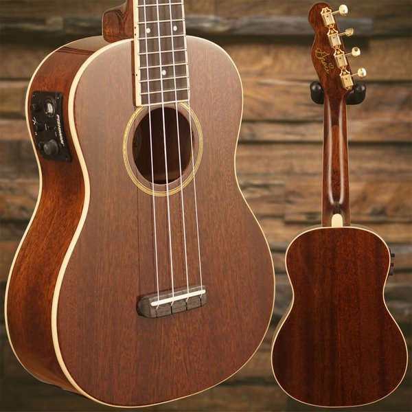 Fender Grace VanderWaal Signature Ukulele, Natural w/ bag
