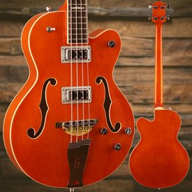 Gretsch Guitars Gretsch G5440LSB Electromatic Hollow Body 34'' Long Scale, Rw Fngrbrd, Orange