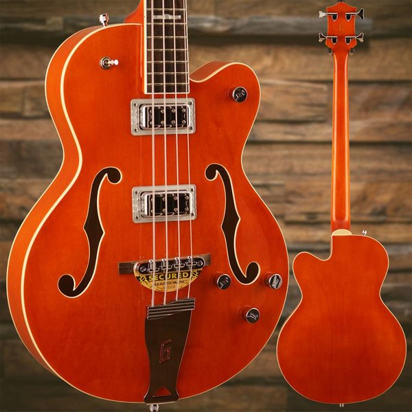 "Gretsch Guitars Gretsch G5440LSB Electromatic Hollow Body 34"" Long Scale, Rw Fngrbrd, Orange"