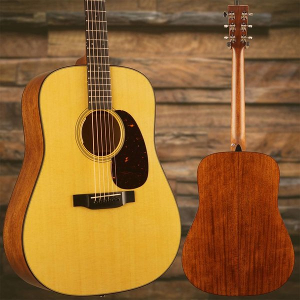 Martin Martin D-18E (LR Baggs Electronics) Standard Series (Case Included) S/N 2267845