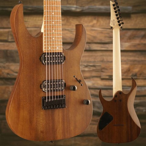 Ibanez RG7421WNF RG 7-String Electric Guitar Flat Walnut