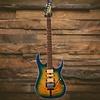 Ibanez RG Premium 6str Electric Guitar w/Case Geyser Blue Burst