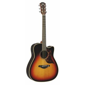 Yamaha Yamaha A3RVSHC Folk Cutaway Acoustic Electric Rosewood Vintage Sunburst w/ Case