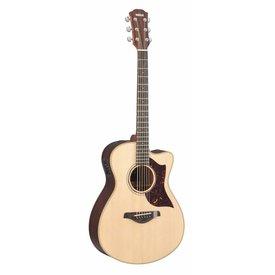 Yamaha Yamaha AC3RHC Small Body Cutaway Acoustic Electric Rosewood w/ Case