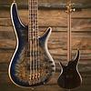 Ibanez SR Premium 4str Electric Bass - Cerulean Blue Burst SN/I180706201
