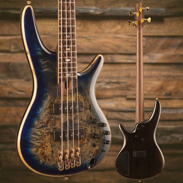 Ibanez Ibanez SR Premium 4str Electric Bass - Cerulean Blue Burst SN/I180706201