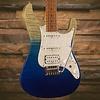 Ibanez AZ Premium 6str Electric Guitar w/Case - Blue Iceberg Gradation SN/I180623817