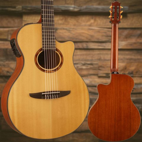 Yamaha NTX700 NTX Acoustic-Electric Classical Guitar