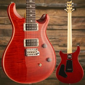 PRS PRS Paul Reed Smith CE24 Bolt-On Flame Maple Top, Rosewood FB, w/ Case, Ruby
