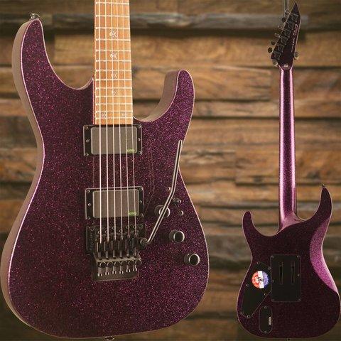 ESP LTD KH-602 Kirk Hammett Signature Series Electric Guitar Purple Sparkle