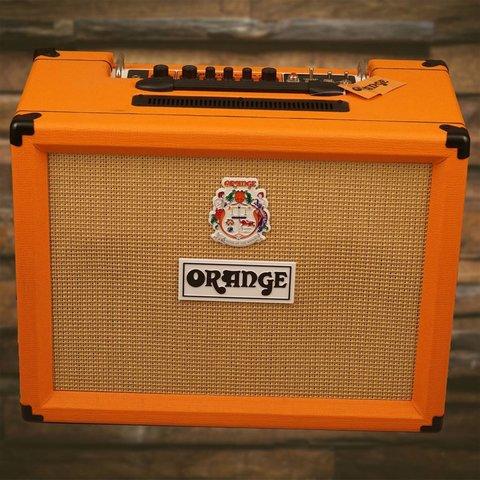 Orange ROCKER-32 30/15 W combo, 2X10'' VOTW gld label spkr, ntrl/dirty ch, mono or stero FX return