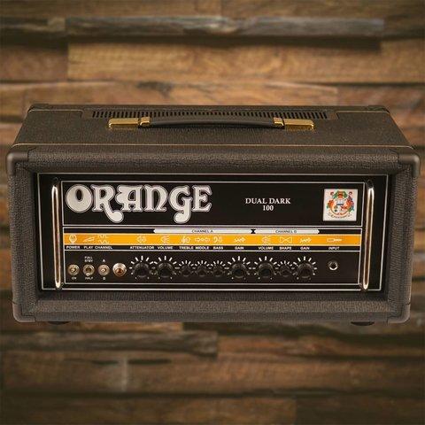 Orange DD100 Black Dual Dark 100/70/50/30 watt Class A/B 2 ch high gain tube amp