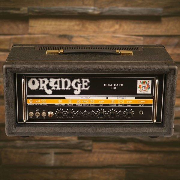 Orange Orange DD100 Black Dual Dark 100/70/50/30 watt Class A/B 2 ch high gain tube amp