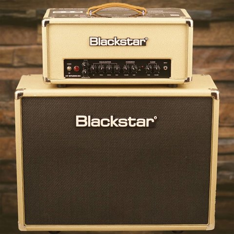 Blackstar HT Studio 20 watt 2x12'' Stack Bronco Tan