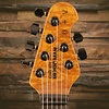 Ernie Ball Music Man St. Vincent HH, Figured Roasted Maple/Ebony, Charcoal Sparkle