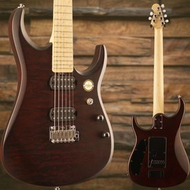 Sterling by Music Man Sterling by Music Man JP150-SHB John Petrucci Quilted Maple Sahara Burst