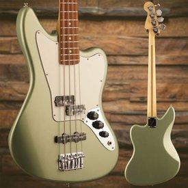 Fender Player Jaguar Bass Pau Ferro Fingerboard Sage Green Metallic