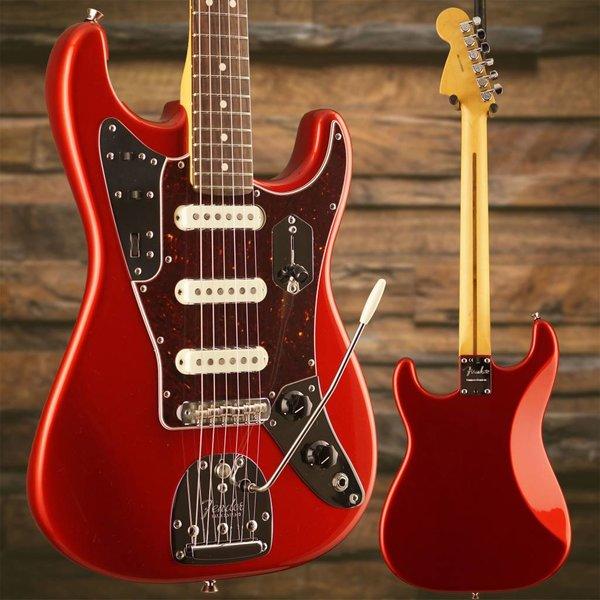 Fender Fender Limited Edition Jaguar Strat Rosewood Candy Apple Red