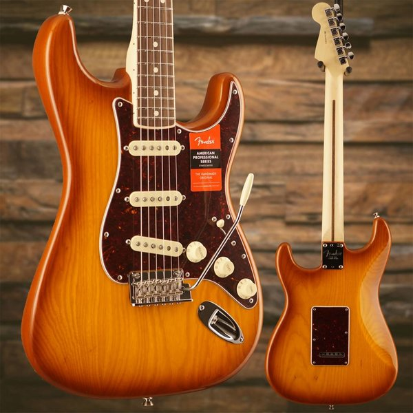Fender Limited Edition American Pro Stratocaster, Rosewood Fingerboard, Honeyburst S/N US18013815