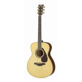 Yamaha Yamaha LS6MHC L Series Mahogany Small Body Acoustic Guitar w/ Hard-Shell Case