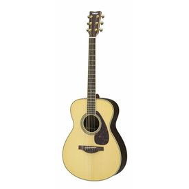 Yamaha Yamaha LS6RHC L Series Rosewood Small Body Acoustic w/ Passive Pickup w/ Case