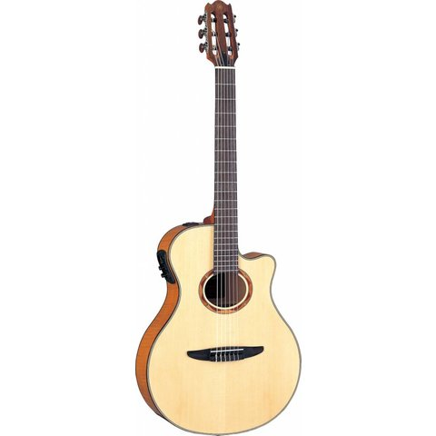 Yamaha NTX900FM NTX Acoustic-Electric Classical Guitar W/ Flamed Maple Top