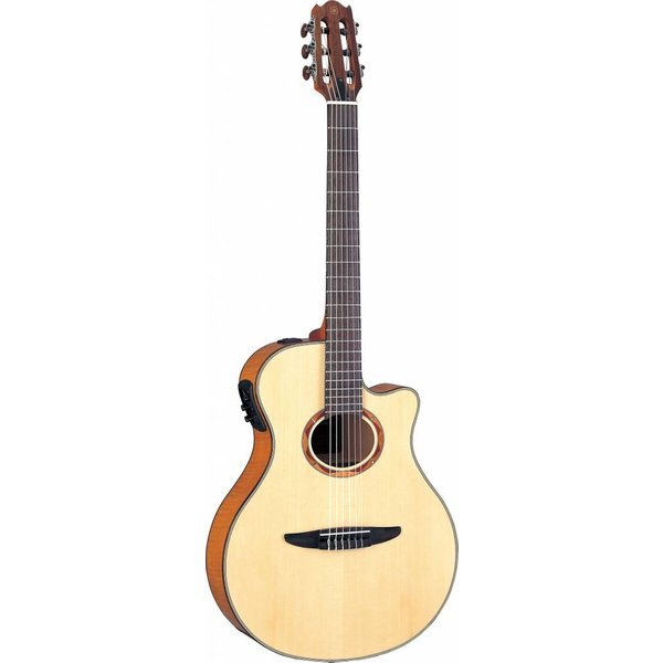 Yamaha Yamaha NTX900FM NTX Acoustic-Electric Classical Guitar W/ Flamed Maple Top